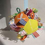 """Куклы и игрушки ручной работы. Ярмарка Мастеров - ручная работа Развивающий мячик """"Калейдоскоп"""". Handmade."""