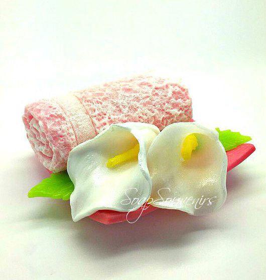 """Мыло ручной работы. Ярмарка Мастеров - ручная работа. Купить Мыло Набор """"Нежность"""". Handmade. Мыло, мыльные цветы"""