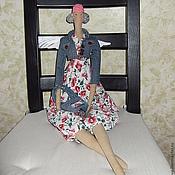 Куклы и игрушки ручной работы. Ярмарка Мастеров - ручная работа Мисс Denim. Handmade.