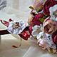 Топиарии ручной работы. топиарий «Бордовые цветы». Наталья Быкова. Ярмарка Мастеров. Подарок девушке, семейный подарок, нить вощёная