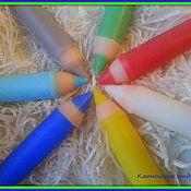 """Косметика ручной работы. Ярмарка Мастеров - ручная работа Мыло """"Цветные карандаши"""". Handmade."""