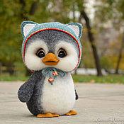 Мягкие игрушки ручной работы. Ярмарка Мастеров - ручная работа Пингвин Тимошка. Handmade.