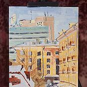 Картины и панно ручной работы. Ярмарка Мастеров - ручная работа Городские зарисовки. Handmade.