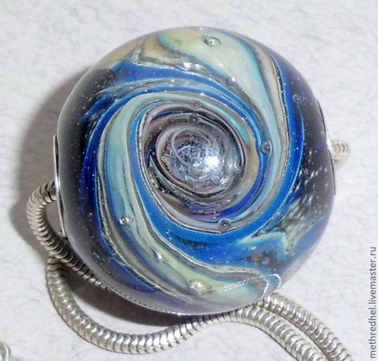 Кулоны, подвески ручной работы. Ярмарка Мастеров - ручная работа. Купить Кулон-шар в стиле Пандора Космическая буря. Handmade.