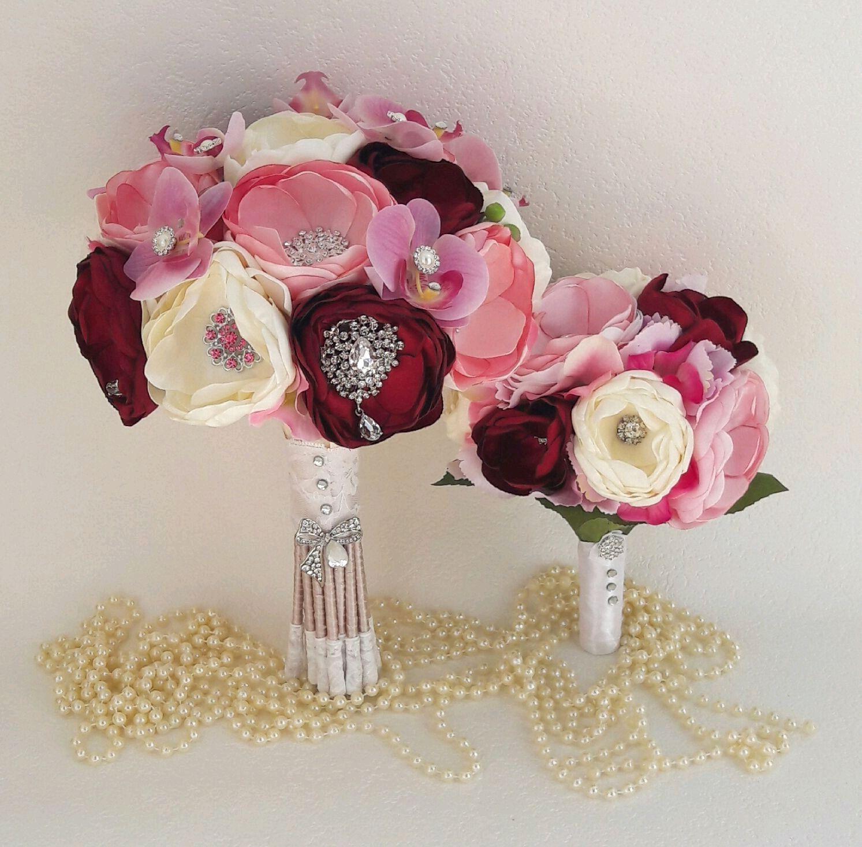Buy wedding brooch bouquet moscow the brides bouquet of pink the wedding flowers handmade buy wedding brooch bouquet moscow the brides bouquet of pink peonies izmirmasajfo