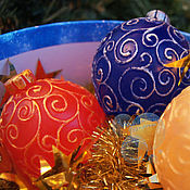 """Подарки к праздникам ручной работы. Ярмарка Мастеров - ручная работа Мыло """"Елочные шарики"""". Handmade."""