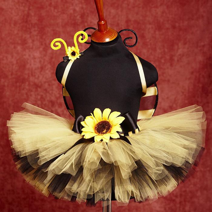 """Купить """"Веселая пчелка"""" карнавальный костюм юбка-пачка, крылья, уси - пчелка, костюм пчелки"""