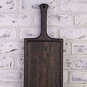 Для дома и интерьера handmade. Livemaster - original item Board from oak for filing and serving the