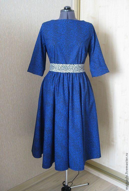 Платья ручной работы. Ярмарка Мастеров - ручная работа. Купить Платье. Handmade. Летнее платье, платье, платье с рукавами