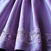 Работы для детей, ручной работы. Ярмарка Мастеров - ручная работа Платье детское нарядное Сирень. Handmade.