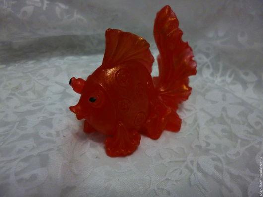 Мыло ручной работы. Ярмарка Мастеров - ручная работа. Купить Золотая рыбка. Мыло ручной работы. Handmade. Золотой