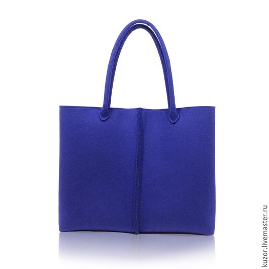 Женские сумки ручной работы. Ярмарка Мастеров - ручная работа. Купить Сумка большая синяя. Handmade. Тёмно-синий, синий