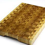 Для дома и интерьера handmade. Livemaster - original item End cutting Board №94. Handmade.