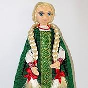 Куклы и игрушки ручной работы. Ярмарка Мастеров - ручная работа Авторская кукла Мария на проволочном каркасе вязаная крючком. Handmade.
