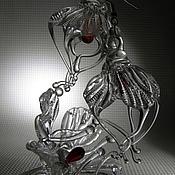 """Украшения ручной работы. Ярмарка Мастеров - ручная работа Комплект""""День Святого Валентина"""". Handmade."""