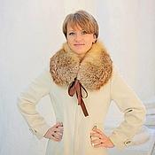 Аксессуары handmade. Livemaster - original item Fox fur collar. Handmade.