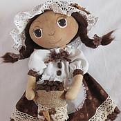 Куклы и игрушки ручной работы. Ярмарка Мастеров - ручная работа Кофейная куколка. Handmade.