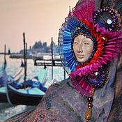 """Украшения handmade. Livemaster - original item Brooch """"Venice"""". Handmade."""