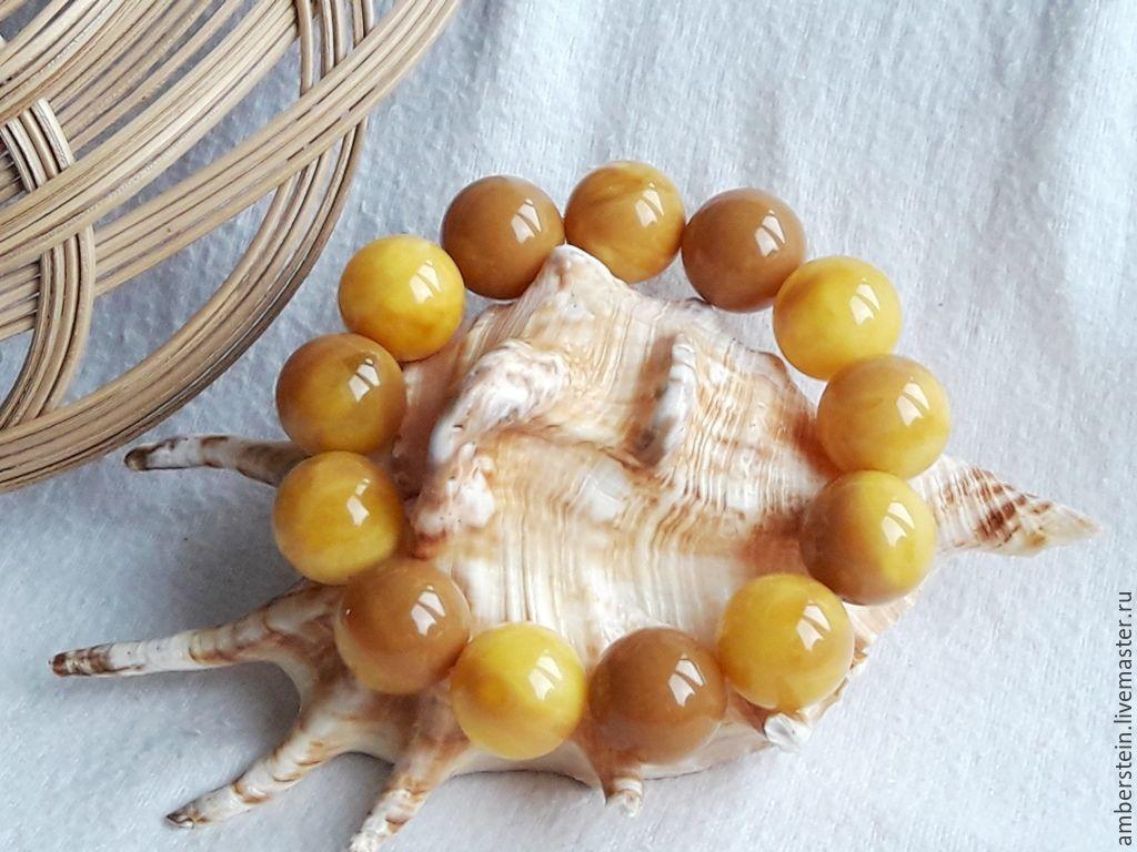 Bracelets handmade. Livemaster - handmade. Buy Bracelet from amber, Eastern sherbet. 17.5.Янтарь, bursztyn, amber rosary