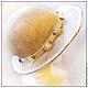 Шляпы ручной работы. Заказать Соломенная  шляпка. Одерова Алла (chapelier). Ярмарка Мастеров. Соломка, шляпа