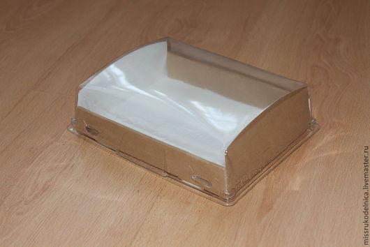 Упаковка ручной работы. Ярмарка Мастеров - ручная работа. Купить Коробка с прозрачной крышкой. Handmade. Упаковка, прозрачная коробка