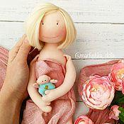 Куклы и игрушки ручной работы. Ярмарка Мастеров - ручная работа Кукла беременная. Портретная кукла. Handmade.