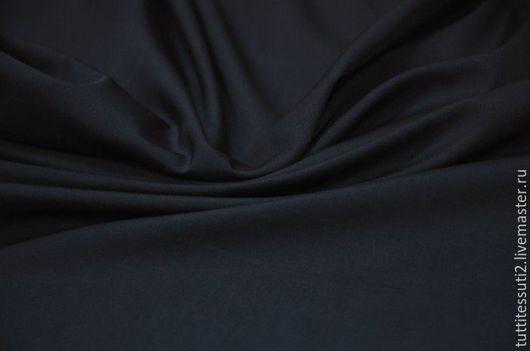 Шитье ручной работы. Ярмарка Мастеров - ручная работа. Купить Хлопковая ткань 02-003-0492. Handmade. Тёмно-синий