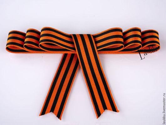Другие виды рукоделия ручной работы. Ярмарка Мастеров - ручная работа. Купить Георгиевская лента. Handmade. Комбинированный