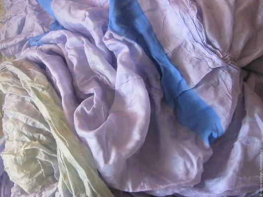 Валяние ручной работы. Ярмарка Мастеров - ручная работа. Купить Шёлк натуральный.. Handmade. Шелк, легкий шелк, ткань