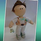 Куклы и пупсы ручной работы. Ярмарка Мастеров - ручная работа Кукла Кубик (18) (парная). Handmade.