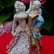 Для дома и интерьера handmade. Livemaster - original item Dancing master.Porcelain figurine.. Handmade.