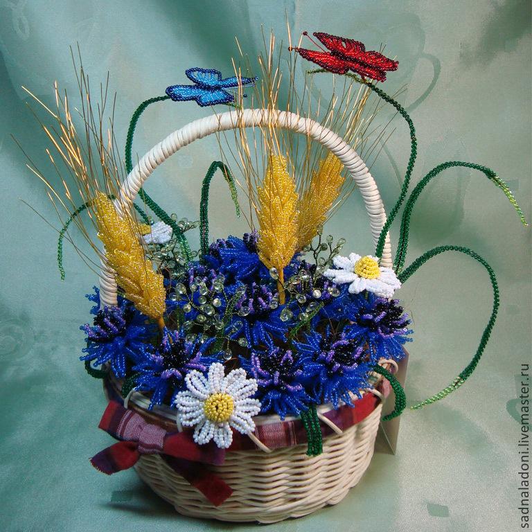 Цветы из бисера – схемы плетения | LS