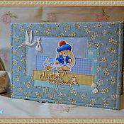 Подарки к праздникам ручной работы. Ярмарка Мастеров - ручная работа Комплект для новорожденного с зайками Ми. Handmade.