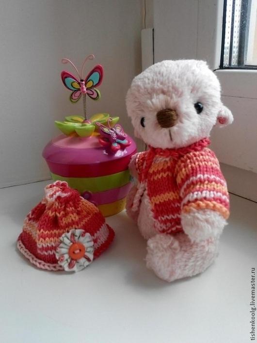 Мишки Тедди ручной работы. Ярмарка Мастеров - ручная работа. Купить Мишка Рози. Handmade. Бледно-розовый, пуговицы декоративные
