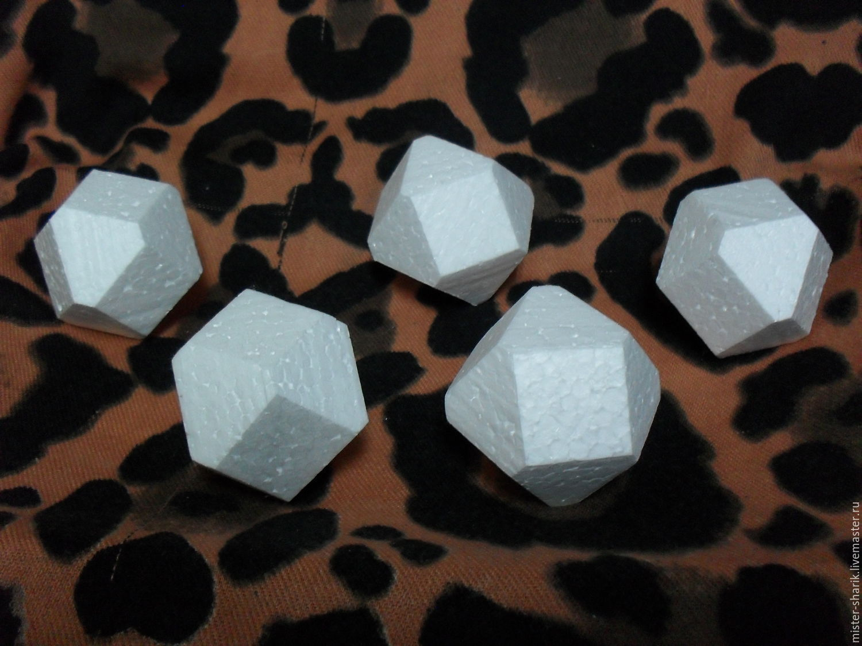 Cube crystal, Crystals, Permian,  Фото №1