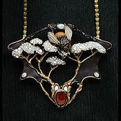 Украшения ручной работы. Ярмарка Мастеров - ручная работа Obsidian honey.. Handmade.