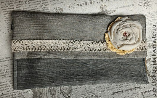 Сумки и аксессуары ручной работы. Ярмарка Мастеров - ручная работа. Купить Клатч сумочка косметичка без застежки мягкая бохо. Handmade.