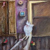 Картины ручной работы. Ярмарка Мастеров - ручная работа Картина маслом на холсте для дома. Handmade.