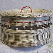Для дома и интерьера handmade. Livemaster - original item Jewelry box decor, woven from vines. Handmade.
