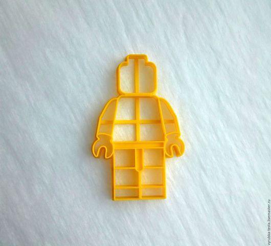 Кухня ручной работы. Ярмарка Мастеров - ручная работа. Купить Legoman - штамп для печенья, пряников, мастики. Handmade. Комбинированный, штамп