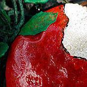 """Украшения ручной работы. Ярмарка Мастеров - ручная работа Сказочное колье """"Яблочко Белоснежки"""". Handmade."""