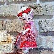Куклы и игрушки handmade. Livemaster - original item Jointed doll: Rose Scarlet. Handmade.