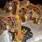 Цветы и флористика ручной работы. Ярмарка Мастеров - ручная работа Денежное дерево (дерево из монет). Handmade.