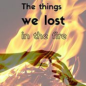 Картины и панно ручной работы. Ярмарка Мастеров - ручная работа Постер Что мы потеряли в огне. Handmade.