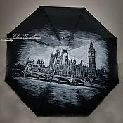 """Аксессуары ручной работы. Ярмарка Мастеров - ручная работа Зонт """"Лондон"""". Handmade."""
