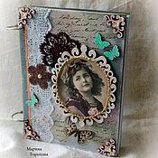 Канцелярские товары handmade. Livemaster - original item Diary, notebook