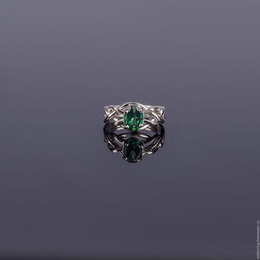 Серебряное кольцо-головоломка от WickerRing