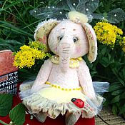 Куклы и игрушки ручной работы. Ярмарка Мастеров - ручная работа Слоняша Мулечка. Handmade.
