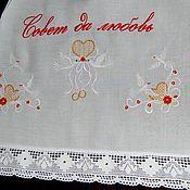Свадебный салон handmade. Livemaster - original item Towel wedding