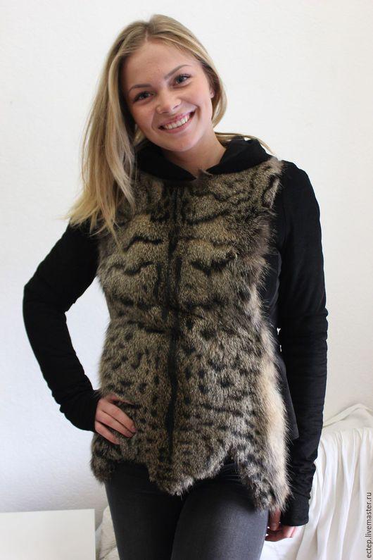 """Верхняя одежда ручной работы. Ярмарка Мастеров - ручная работа. Купить Куртка """"Камышовый кот"""". Handmade. Куртка меховая, шубка"""